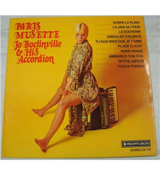 Paris Musette, Jo Boclinville and his Accordion