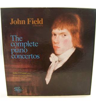 John Field - The Complete Piano Concertos. John O'Conor, Janos Furst, New Irish Chamber Orchestra - CSM 55-58