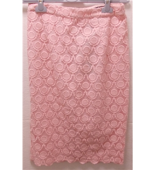 *BNWT Next size: 6 pink embroidered skirt
