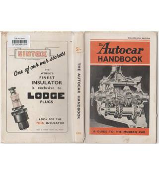 The Autocar Handbook - 18th Edition