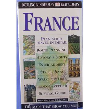France (Eyewitness Travel Maps)