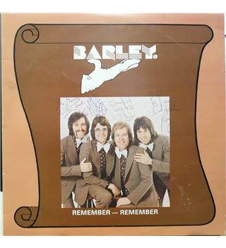 Remember-Remember - Barley - SRTM 75348 (Autographed Copy)