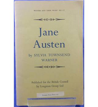 Jane Austen - Writers And Their Works No.17.