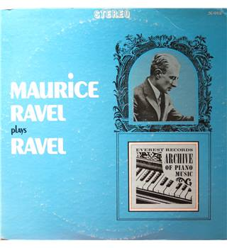 Maurice Ravel plays Ravel.  Everest X912 Stereo