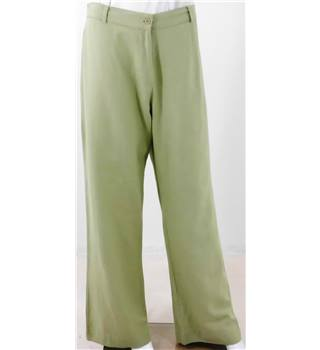 Casual Comfort Size 14 Pastel Elastcated Trousers