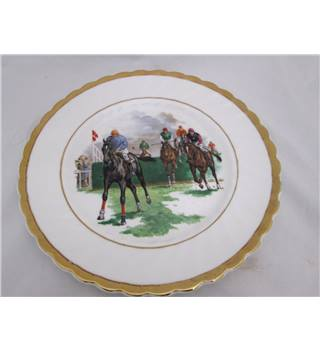 Pall Mall Ware Horse Racing Plate