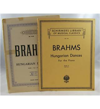 Brahms - Hungarian Dances Books I & II