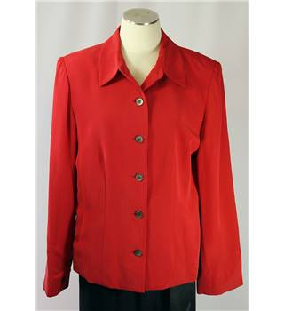 Valerie Stevens Jacket - Red - Size 16 Valerie Stevens - Size: 16 - Red - Casual jacket / coat