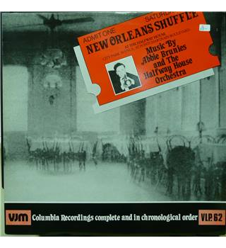 New Orleans Shuffle - Albert Brunies And The Halfway House Orchestra - VLP 62