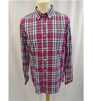 UCLA - Size: M - Multi-coloured - Check - Long sleeved Shirt