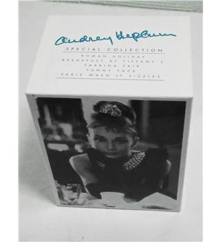 Audrey Hepburn: Special Collection Vintage VHS 5 Movie Boxset PG