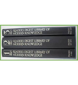 Reader's Digest  Library of Modern Knowledge