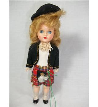 Cute Scottish Girl Doll,fully paid up member of SNP