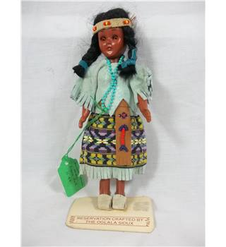 Sunbell Corporation Heritage Sioux Indian Girl Doll Sunbell Corporation