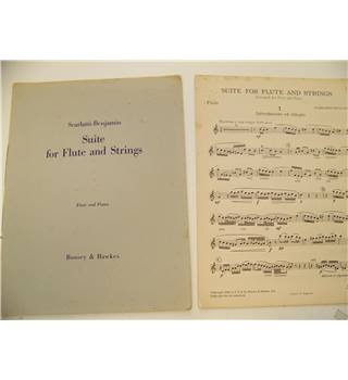 Suite for Flute and Strings : Freely adapted from Piano Sonatas