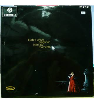Buddy Greco Sings For Intimate Moments - Buddy Greco - 33SX 1620