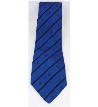 Brooksfield blue striped silk tie
