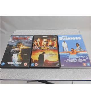 DVD Triple Pack - Beowulf, Gone Baby Gone, The Business 18