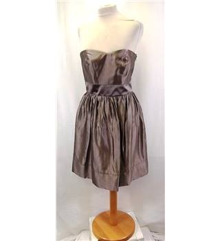 BNWT Coast - Size: 10 - Brown - Strapless dress