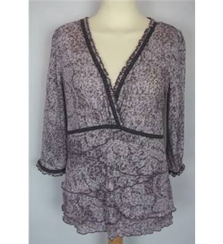 Per Una Size 14 Purple Top