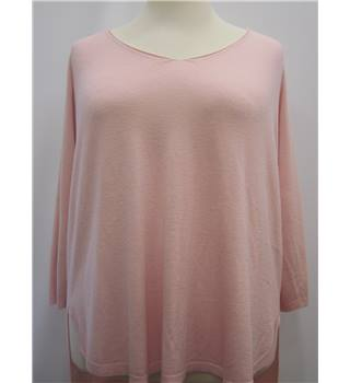 BNWT Phase Eight Pink V Neck Jumper Phase Eight - Size: XL - Pink