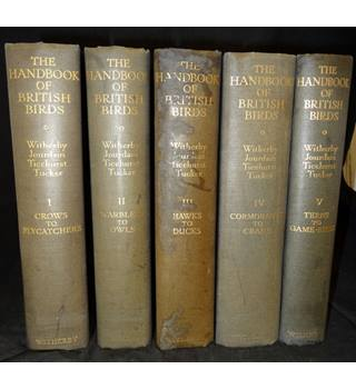 The Handbook of British Birds - Five Volume Set