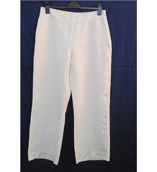 Phase Eight crean wide legged trousers Size 14