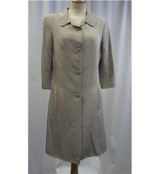 *Jigsaw Size: 8 Beige Light Coat