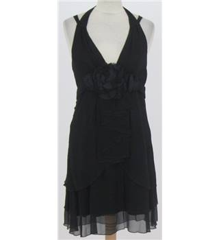 BNWT Nocturne Size: 8  Black Silk Cocktail dress