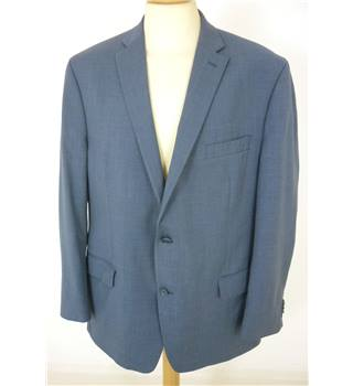 "Michael Kors  Size: Jacket, 36"" chest & Trousers, 38"" waist, 30"" inside leg Blue Smart Wool Designer Single Breasted Suit"