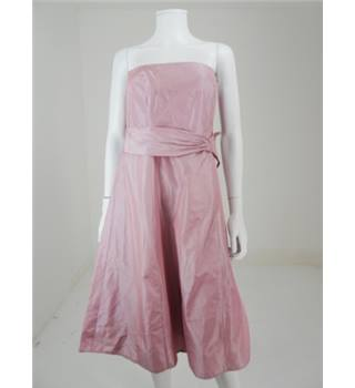 BNWT Debut Size 12 Rose Pearlescent A Line Dress