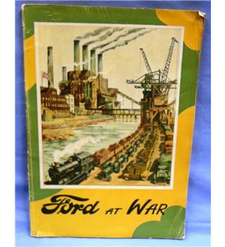 1946. Ford at War by Hilary St. George Saunders.