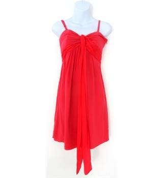 Coast Size 8 Flamingo Pink Summer Dress