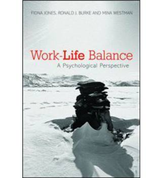 Work-life balance: A Psychological Perspective