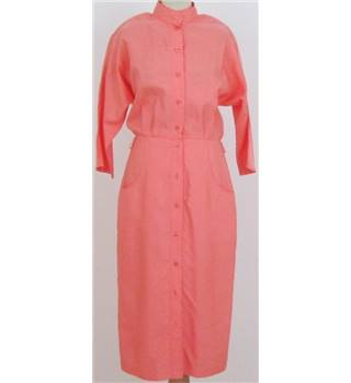 Betty Barclay Size:L salmon-pink button-through dress