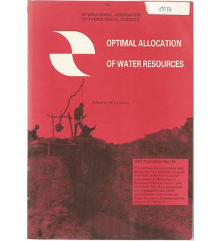 Optimal Allocation of Water Resources