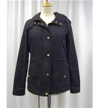 *Topshop size: 10 black casual jacket / coat