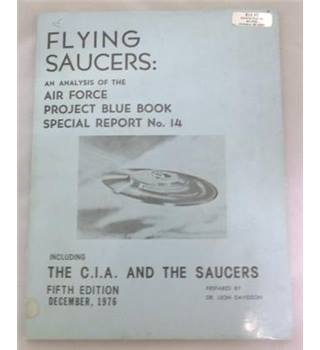 Flying Saucers: An Analysis of the Air Force Project Blue Book. Special Report no. 14.