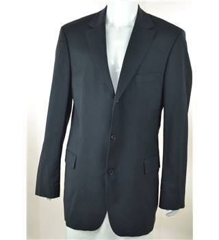 Hugo Boss - Size: 44L - Navy Blue - 100% Wool - Single breasted suit jacket