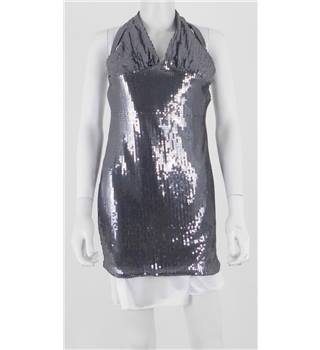 Therapy Size 12 Sequin Embellished Mini Dress