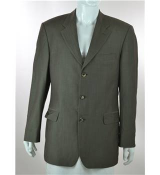 "Hugo Boss - Size: 42"" - Cedar Brown - 100% Wool - Single breasted suit jacket"