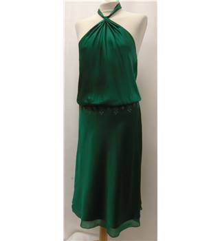 BCBG Max Azria - Size: 10 - Green - Dress / gown