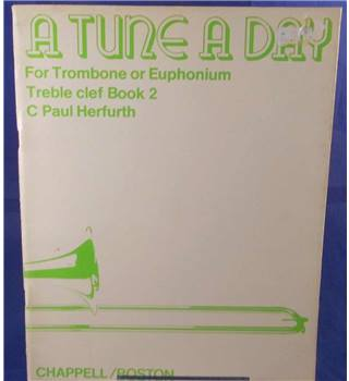 A Tune A Day For Trombone Or Euphonium Treble Clef Book One