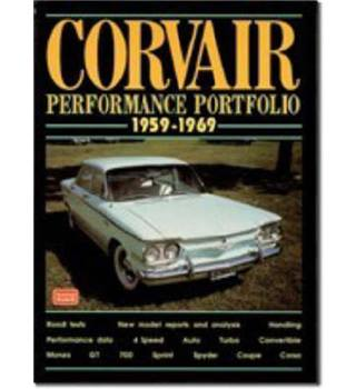 Corvair Performance Portfolio - 1959-69