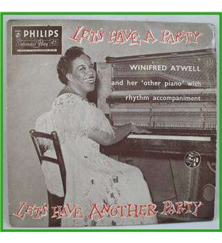 Winifred Atwell - Let's Have A Party/Let's Have Another Party - BBE 12010