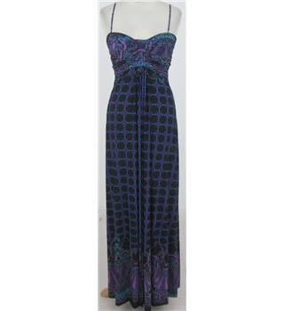 BNWT Therapy Size:8 Turquoise & purple evening dress
