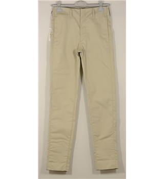 "*Uniqlo size: 29"" beige trousers"
