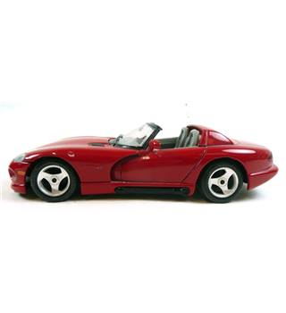 Burago Dodge Viper Rt/10 Diecast Model Car