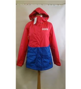 BRAND NEW NIKE PINK / BLUE WATERPROOF  JACKET - SIZE SMALL NIKE - Size: S - Pink - Casual jacket / coat