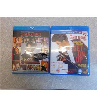 Blu-Ray Stories Twin Pack - Walk Hard + Get On Up The James Brown Story cert 12